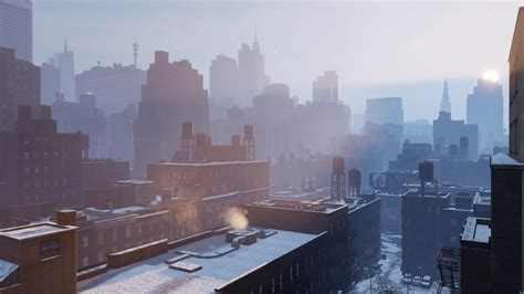 nyc winter cityscape  division  wallpaper
