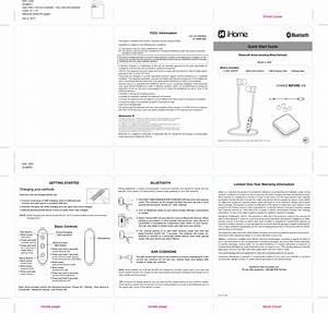 B20 User Manual B20 Qsg V10