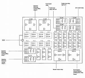 2000 F250 Super Duty Fuse Panel Diagram