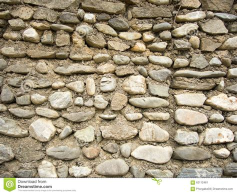 wall made by gray river stock photo image