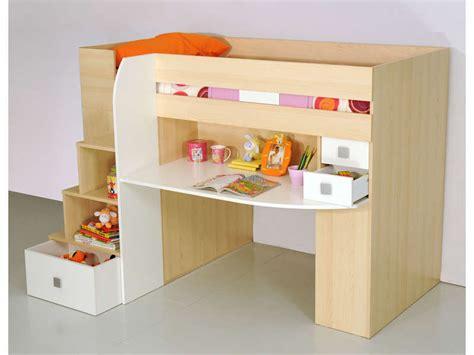 lit combin 233 bureau conforama table de lit