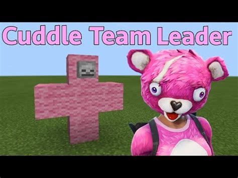 summon cuddle team leader fortnite  minecraft
