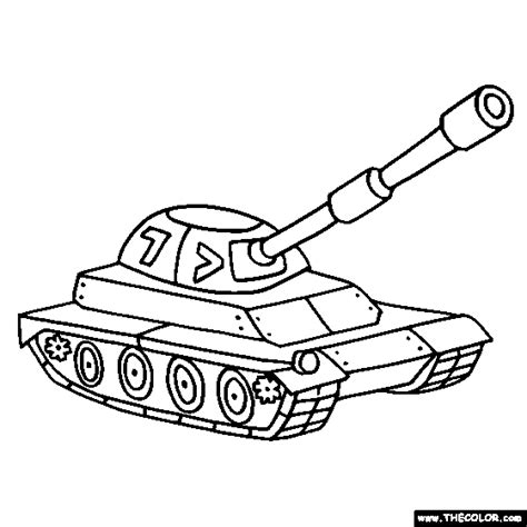 tanks  coloring pages page