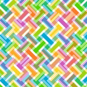 Clipart - Colorful Abstract Geometric Pattern Background