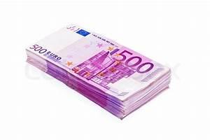 Kaufkraft Berechnen : 500 banknoten sind eine menge geld auf einem haufen auf wei em hintergrund stock foto ~ Themetempest.com Abrechnung