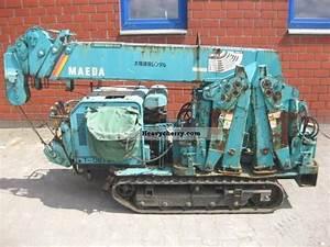 Bobcat Excavator Size Chart Maeda Mc 275c Mini Crane 1999 Other Construction Vehicles