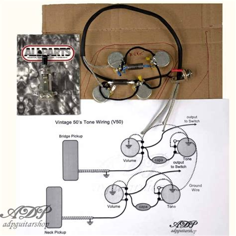 kit electronique cable p90 33nf lespaul gibson epiphone lp wiringharness ebay
