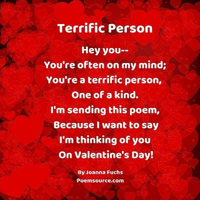 Valentine Poems: Make Them Feel Special With A Friendly Verse