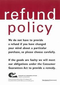 Refund Policy - HOB