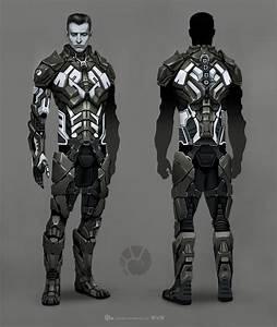 10.6 MB: ArtStation - EVE Online - Combat Suit - Concept ...