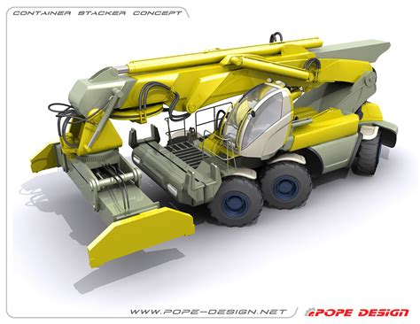 container stacker concept  behance