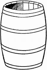Barrel Clipart Water Drum Clip Etc Cliparts Usf Edu Clipartmag Library Medium sketch template