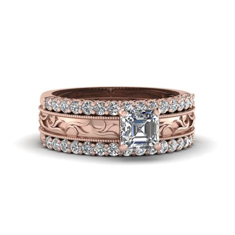 Latest Filigree Engagement Rings Style at Fascinating Diamonds