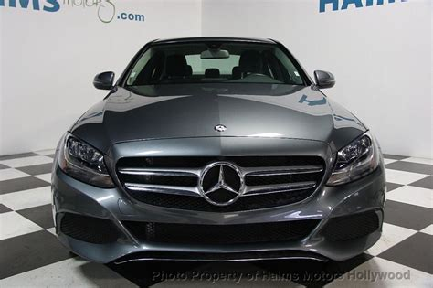 This c300 cabriolet variant comes with an engine putting out and of max power and max torque respectively. 2017 Used Mercedes-Benz C-Class C 300 Sedan at Haims Motors Serving Fort Lauderdale, Hollywood ...
