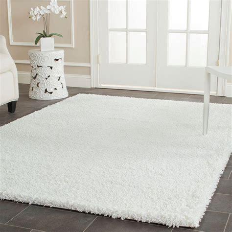 safavieh california shag white  ft   ft area rug