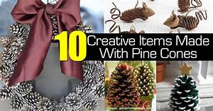 10, Creative, Items, Made, With, Pine, Cones