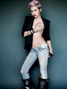 Hot Or Not: Miley Cyrus' Nearly Nude Look For Latest Issue ...
