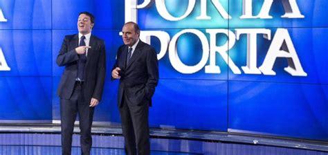 Matteo Renzi Porta A Porta by Matteo Renzi E Il Fantasma Di Silvio A Porta A Porta