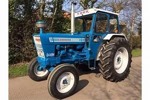 1975 Ford 7000 4cylinder Diesel Tractor Reg  No  Jbj 55n