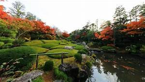 Water japan landscapes nature flowers garden zen wallpaper