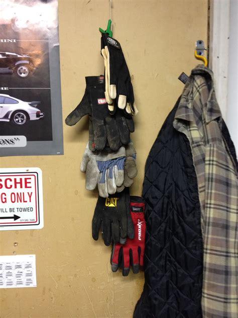glove hanger perfect garage organization brian prom blog