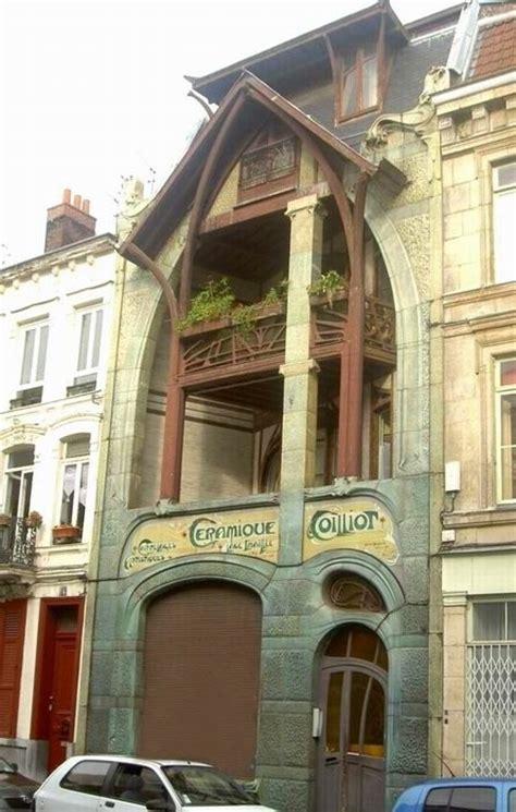 guimard maison coilliot fa 231 ade lille nord photo de 05 l nouveau l architecture