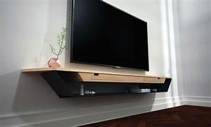 Alinea Meuble Salon : meuble tv blanc suspendu alinea pin meuble tv design suspendu larmo new on pinterest tvs ~ Teatrodelosmanantiales.com Idées de Décoration