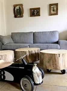 1000 idees sur le theme tronc d39arbre sur pinterest With maison en tronc d arbre 2 tronc table basse sur roulettes et deco perso barbatruc