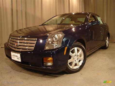 Cadillac Cts Blue by 2006 Blue Chip Cadillac Cts Sedan 2630809 Gtcarlot