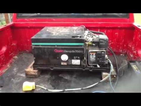 onan marquis  generator youtube