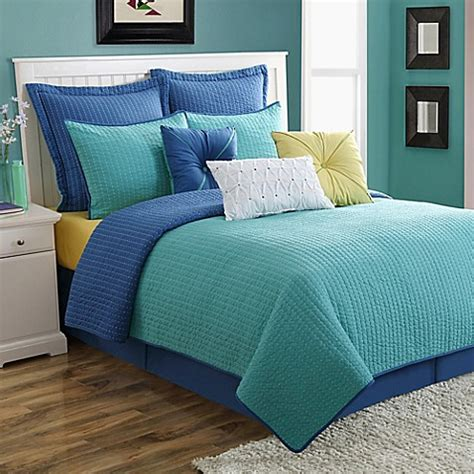 3230 turquoise sheet set 174 dash pic stitch quilt set in turquoise bed bath