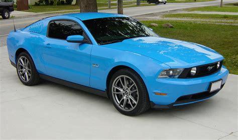 Grabber Blue 2014 Mustang