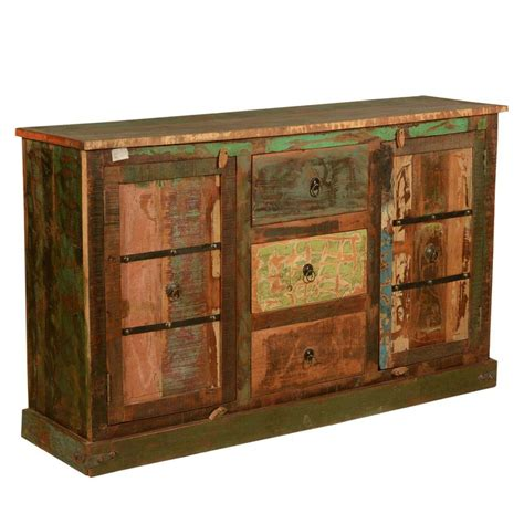 Rustic Sideboard Buffet by Autumn Reclaimed Wood Rustic Sideboard Buffet Cabinet