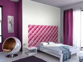 decoration tete de lit papier peint visuel 8