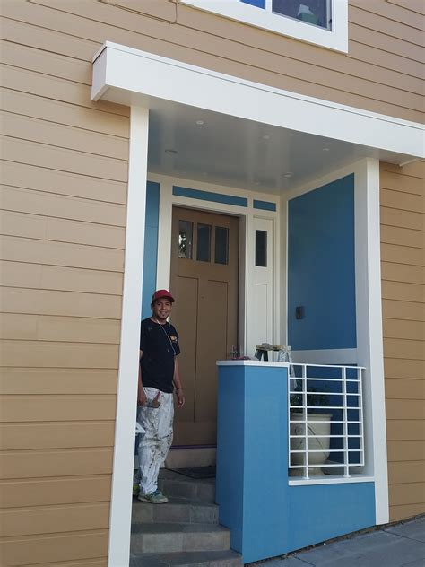 san francisco painting contractor completed exterior