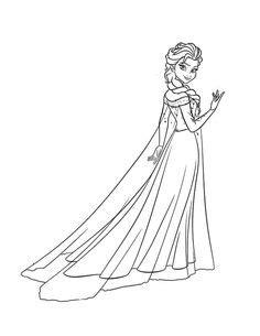 Elsa Coloring Pages | K5 Worksheets | Elsa coloring pages