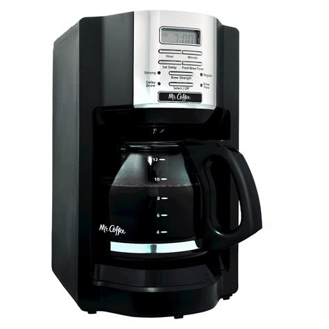 You will never have to worry about not having your coffee, even when. UPC 072179231417 - Mr. Coffee Black 12-Cup Programmable Coffeemaker | upcitemdb.com