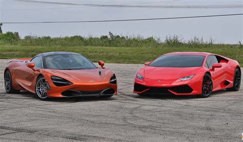 Epic Showdown Mclaren 720s Vs Lamborghini Huracan