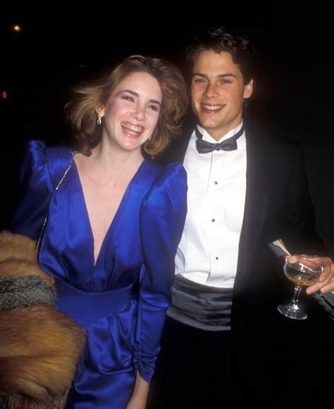 Melissa Gilbert and Rob Lowe   Celebrity Couples From the ...