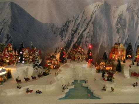 bradford exchange christmas village images