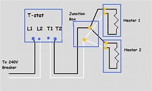 240v Electric Baseboard Heat Wiring Diagram