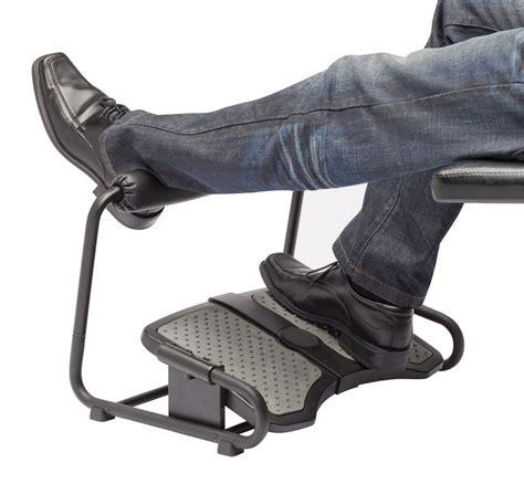 under desk foot stool inzone footrest by sun flex ergocanada detailed