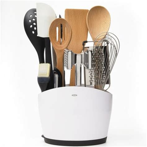 oxo utensil holder oxo softworks utensil holder walmart ca 1358