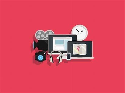 Presentation Finance Flat Creative Icon Animated Digital