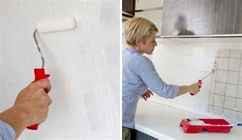 Peut On Peindre Des Tuiles by Repeindre Le Carrelage D Une Cr 233 Dence De Cuisine C 244 T 233 Maison