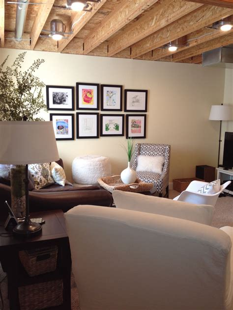 Ideas For Unfinished Basements by 20 Amazing Unfinished Basement Ideas You Should Try
