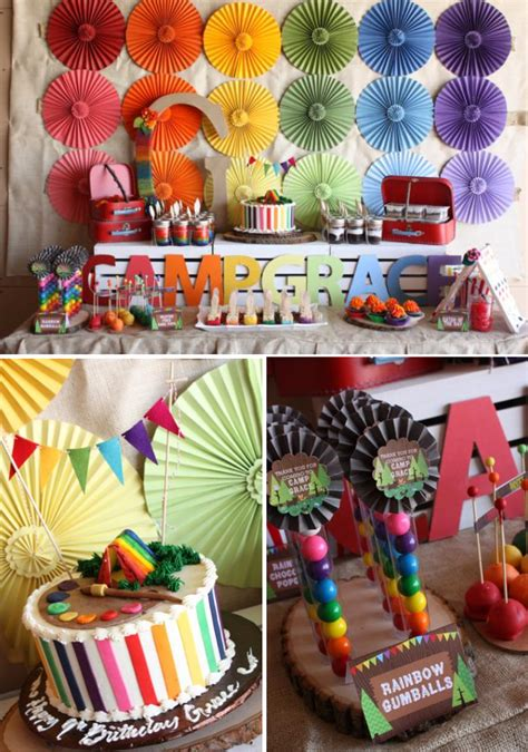 Camping , Girl Parties , Kids Parties , Rainbow. Kitchen Remodel Ideas For Small Kitchens. Birthday Ideas Hubby. Gift Basket Ideas Yahoo. Cake Piping Ideas. Decorating Ideas For Fall. Nail Color Ideas For Valentines Day. Kitchen Ideas For Black Appliances. Art Ideas Stage 3