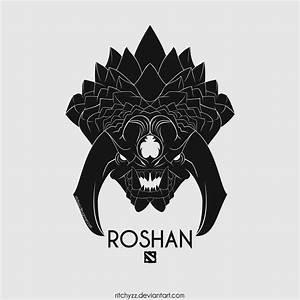 Logo Roshan Dota 2 By Ritchyzz On DeviantArt