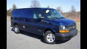 2003 Chevrolet 2500 Cargo Van For Sale