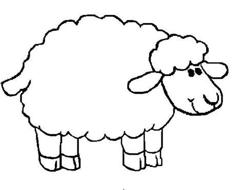 Lamb Outline Drawing At Getdrawings.com